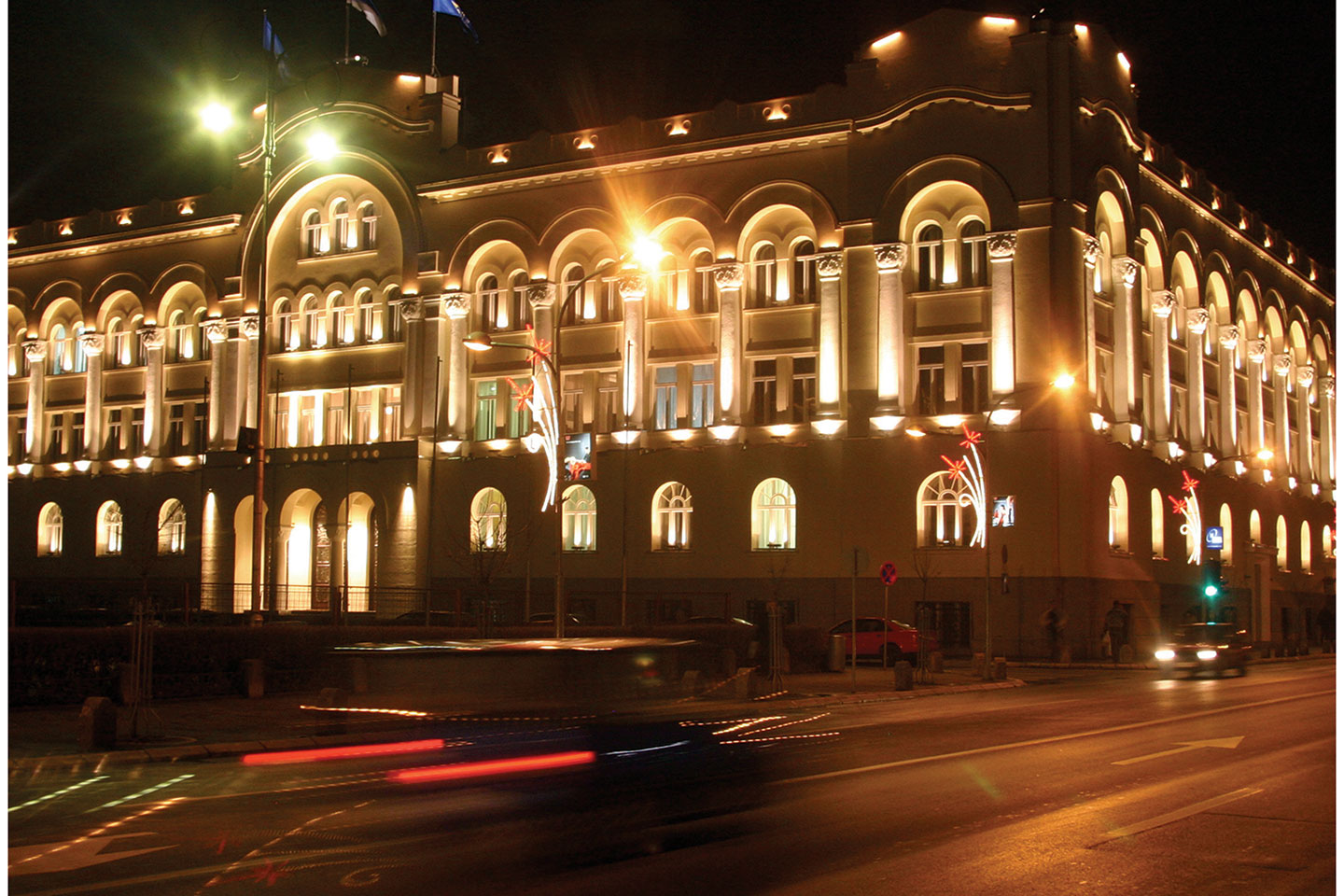 municipality building in banja luka