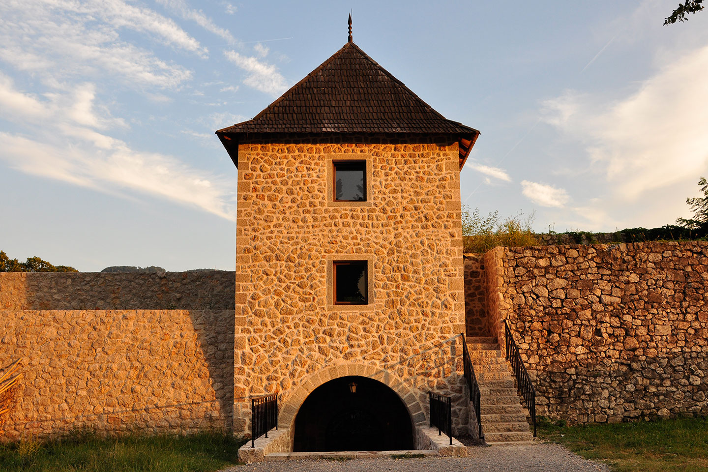 fort at fortress Kastel
